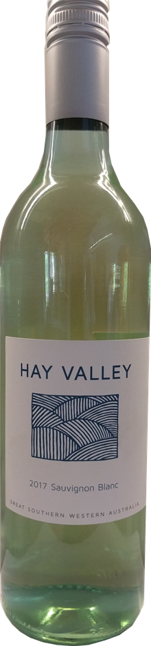 Hay Valley Sauvignon Blanc 2017 (12 x 750mL) Great Southern, WA