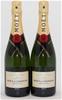 Moet & Chandon Brut `Imperial` NV (2 x 750mL), Champagne, France.