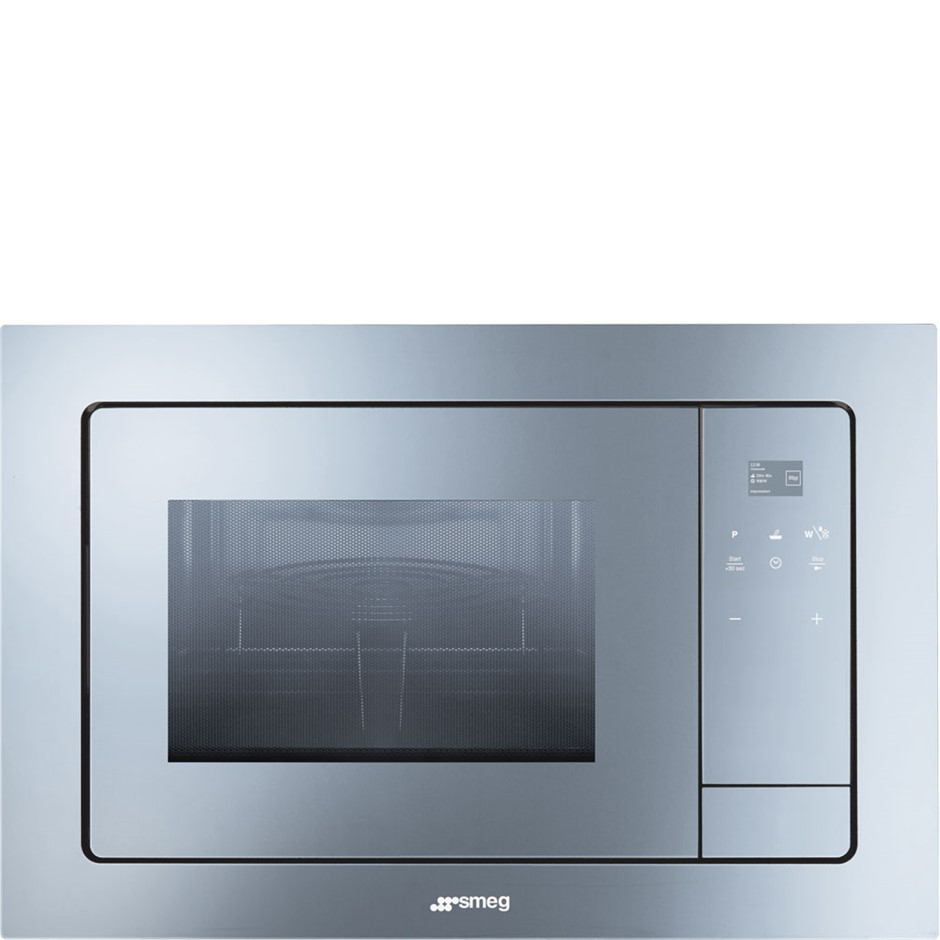 Smeg 60cm Built In Microwave with grill, Model: FMIA120