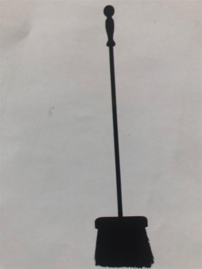 Melton Craft Fireplace/Box Brush L68cm Black (One PC Tool)
