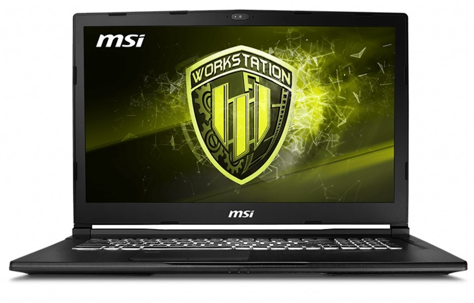 MSI WE63 8SI-247AU 15.6-inch Full HD Mobile Workstation Notebook, Black