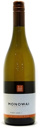 Monowai `Winemaker's Selection` Pinot Gris 2019 (12 x 750mL) Hawke's Bay