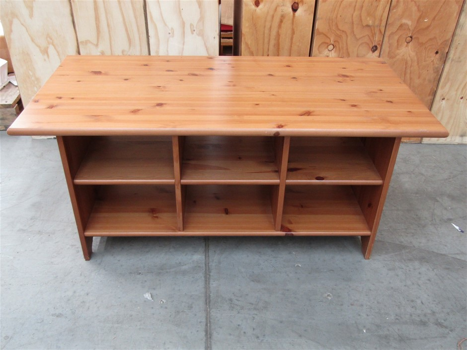 Qty 1 x Timber Coffee Table