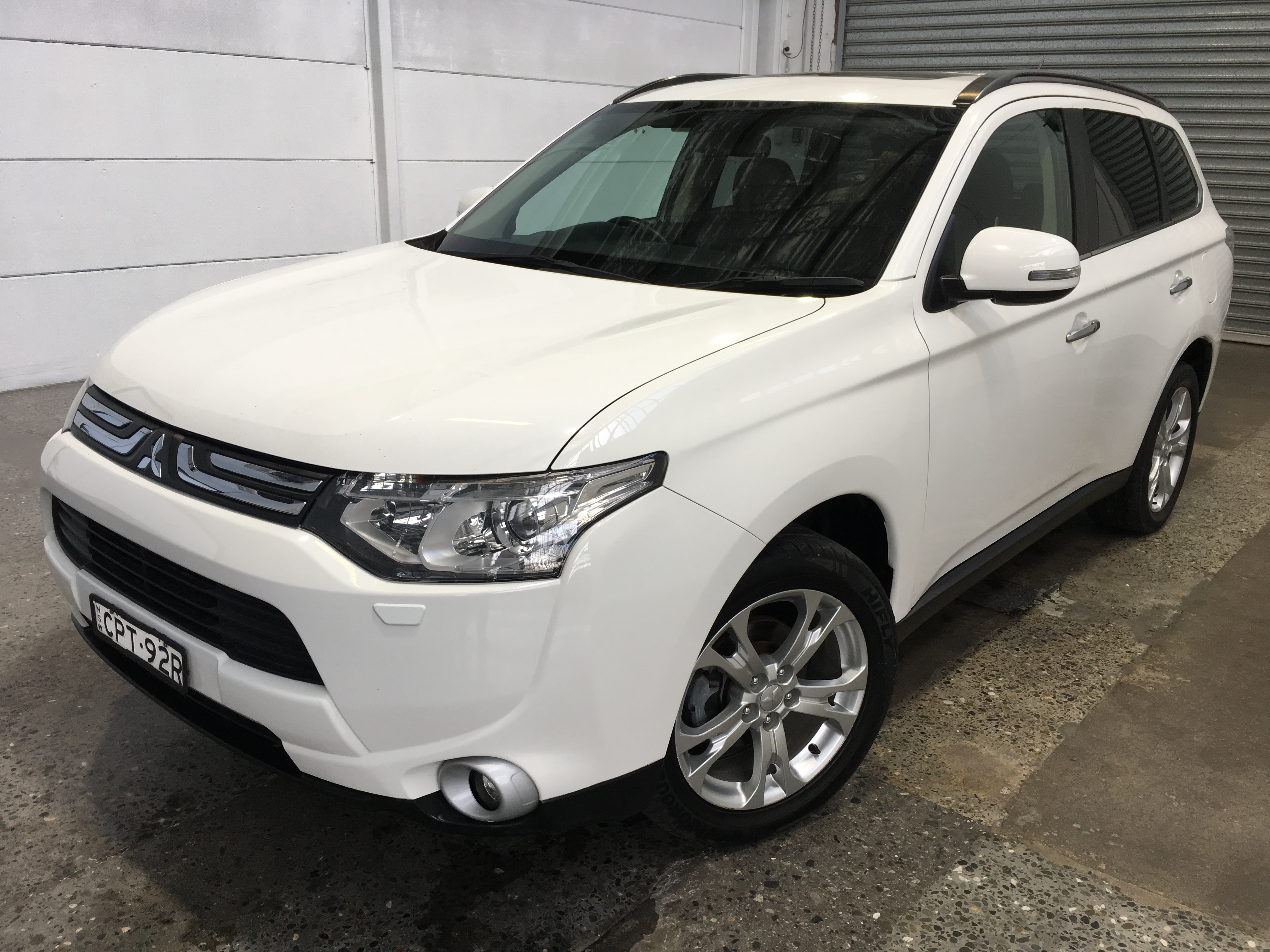 2013 Mitsubishi Outlander ASPIRE 4WD ZJ T/Diesel Automatic 7 Seats Wagon