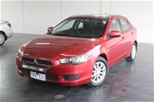 Unreserved 2010 Mitsubishi Lancer SX SPORTBACK CJ CVT Hatch