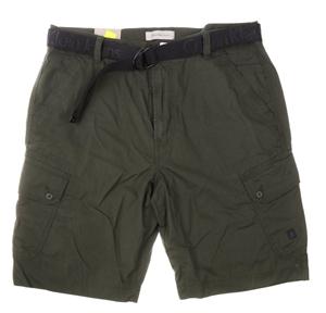 CALVIN KLEIN Men`s Cargo Shorts, 100% Po