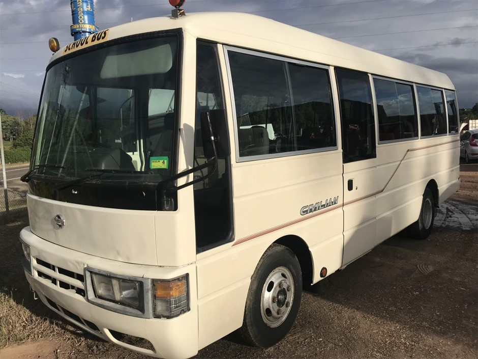 1998 Nissan Civillian 4.2 Ltr Diesel Bus Includes Extra Nissan Camper