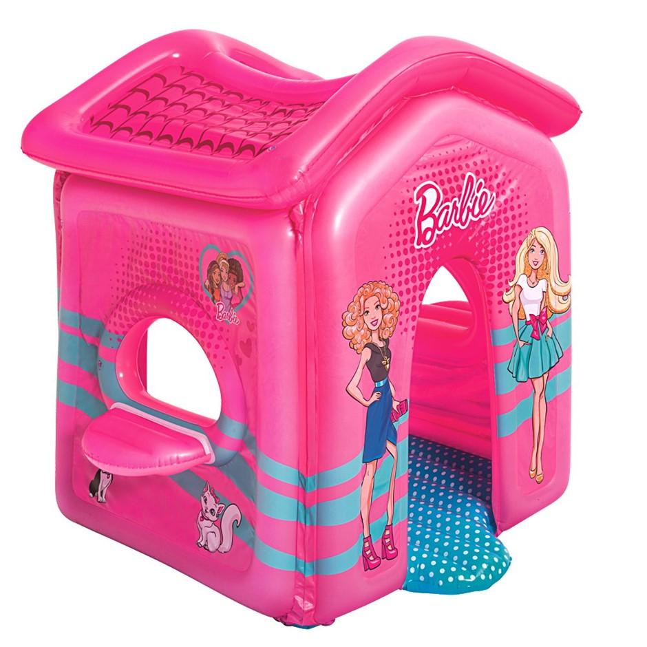 Bestway Barbie Malibu Playhouse Inflatable Toy Indoor Pink play House