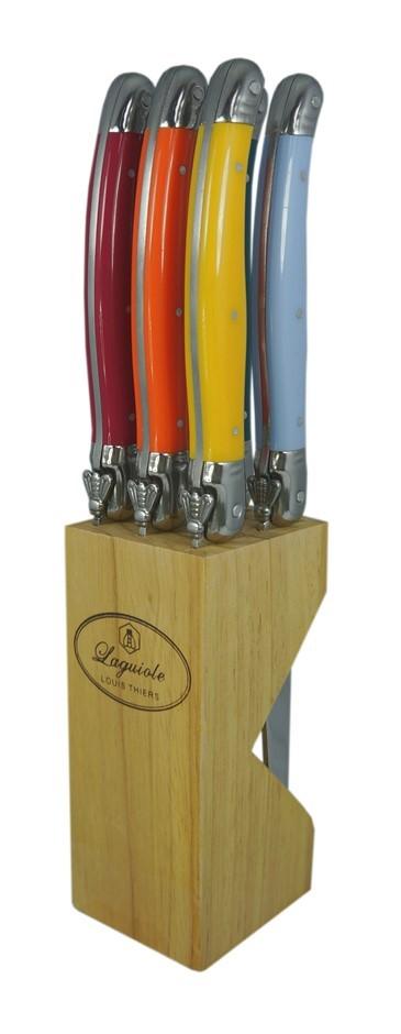 Laguiole by Louis Thiers 6-piece Steak Knife Set - Multi-colour