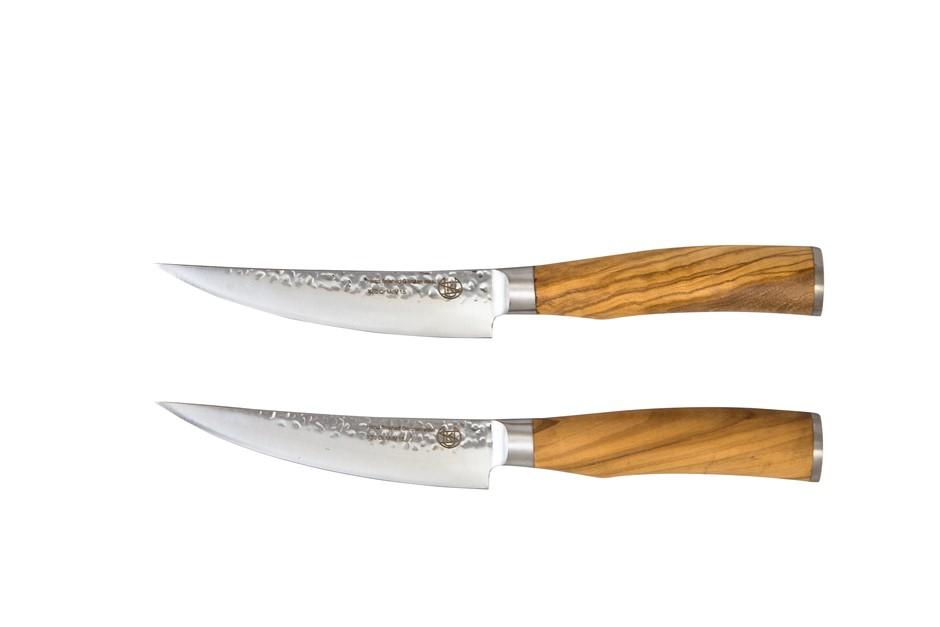 Classic The Bone Olive Wood Set of 2