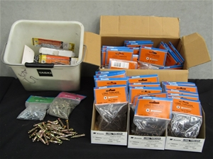 Assortment of Screws, Nails and Bolts