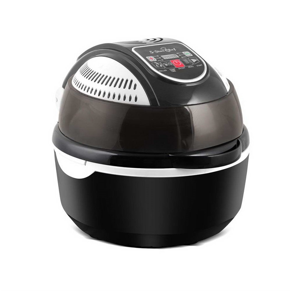 5 Star Chef 10L 6 Function Convection Oven Cooker Air Fryer - Black