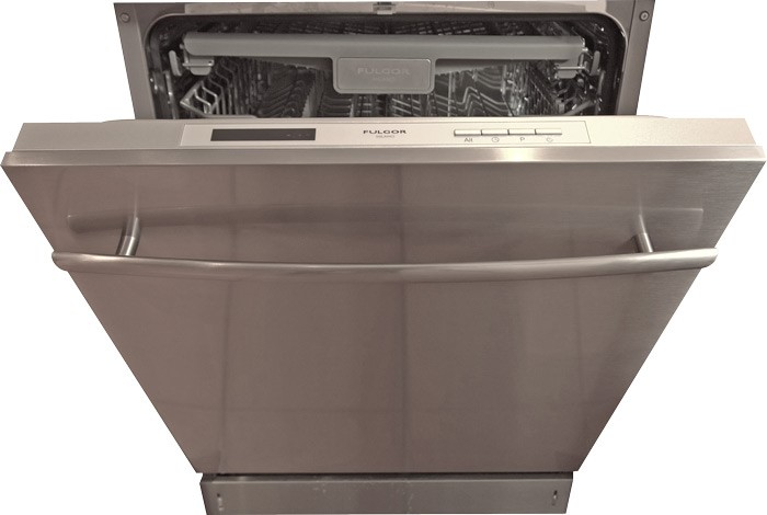 Fulgor Milano 60cm Dishwasher (DWI8011) with Stainless Steel Door + Handle