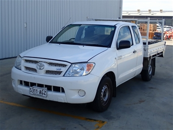 2006 Toyota Hilux SR Automatic Ute