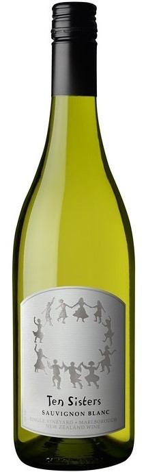 Ten Sisters Single-Vineyard Sauvignon Blanc 2018 (12 x 750mL) Marlborough