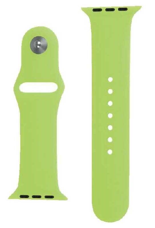 (10 Pack) Laser Apple Watch Sports Bands 38mm, Green