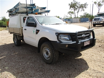 2013 Ford Ranger PX 4WD Manual - 6 Speed Ute