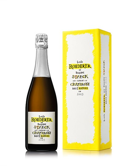 Louis Roederer Brut Nature Deluxe 2009 (6 x 750mL), Champagne, France.