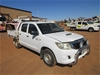 2011 Toyota Hilux SR RWD Manual - 5 Speed Dual Cab Ute
