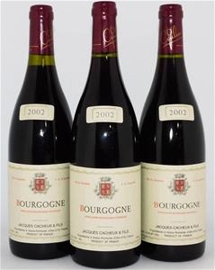 Jacques Cacheux `Bourgogne Rouge` 2002 (