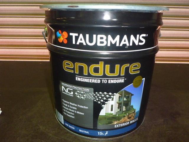 Taubmans 15L Endure Exterior Low Sheen Paint - Neutral