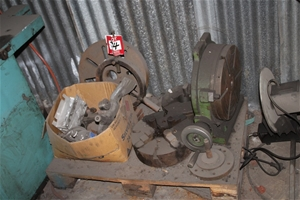 Pallet Of Assorted Machine Tooling