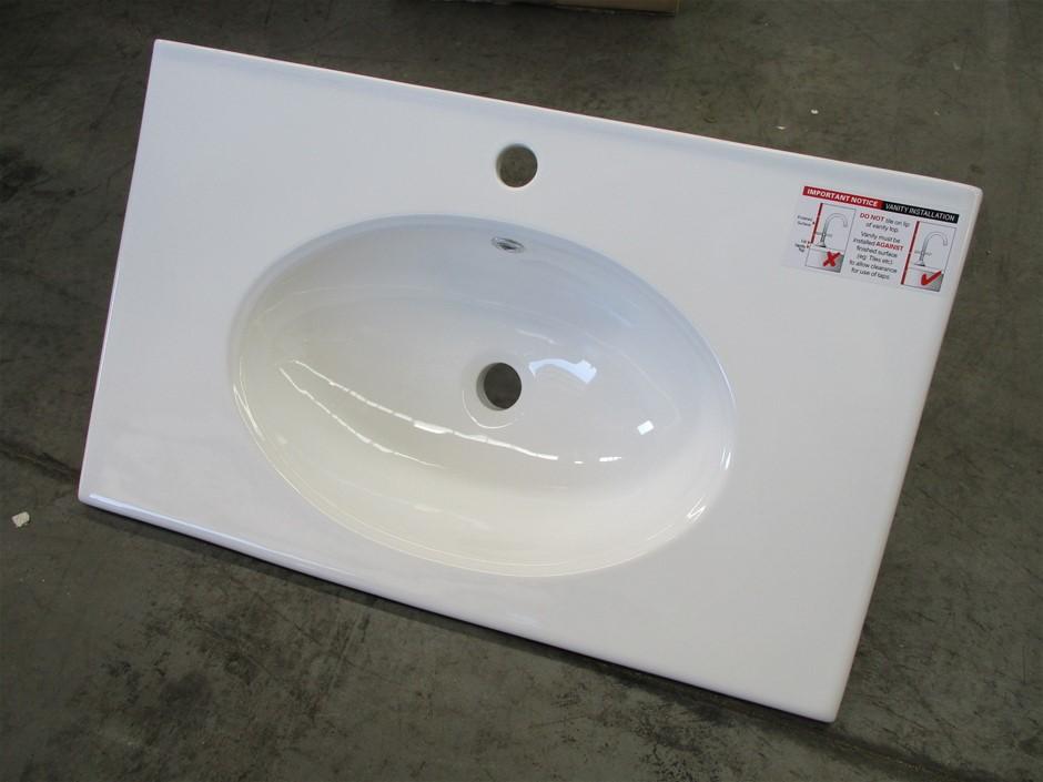 AMPLUST751 Ceramic Vanity Top