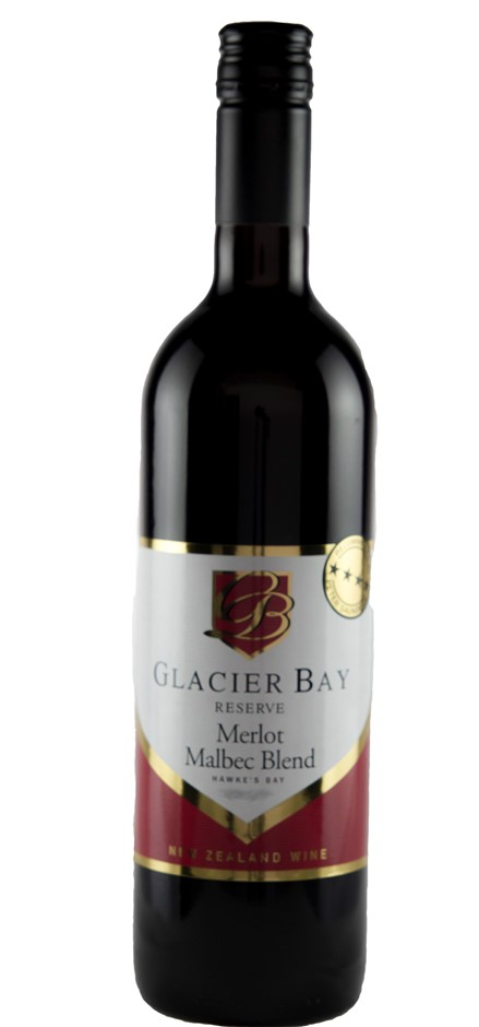 Glacier Bay Merlot Malbec 2015 (12 x 750mL) New Zealand