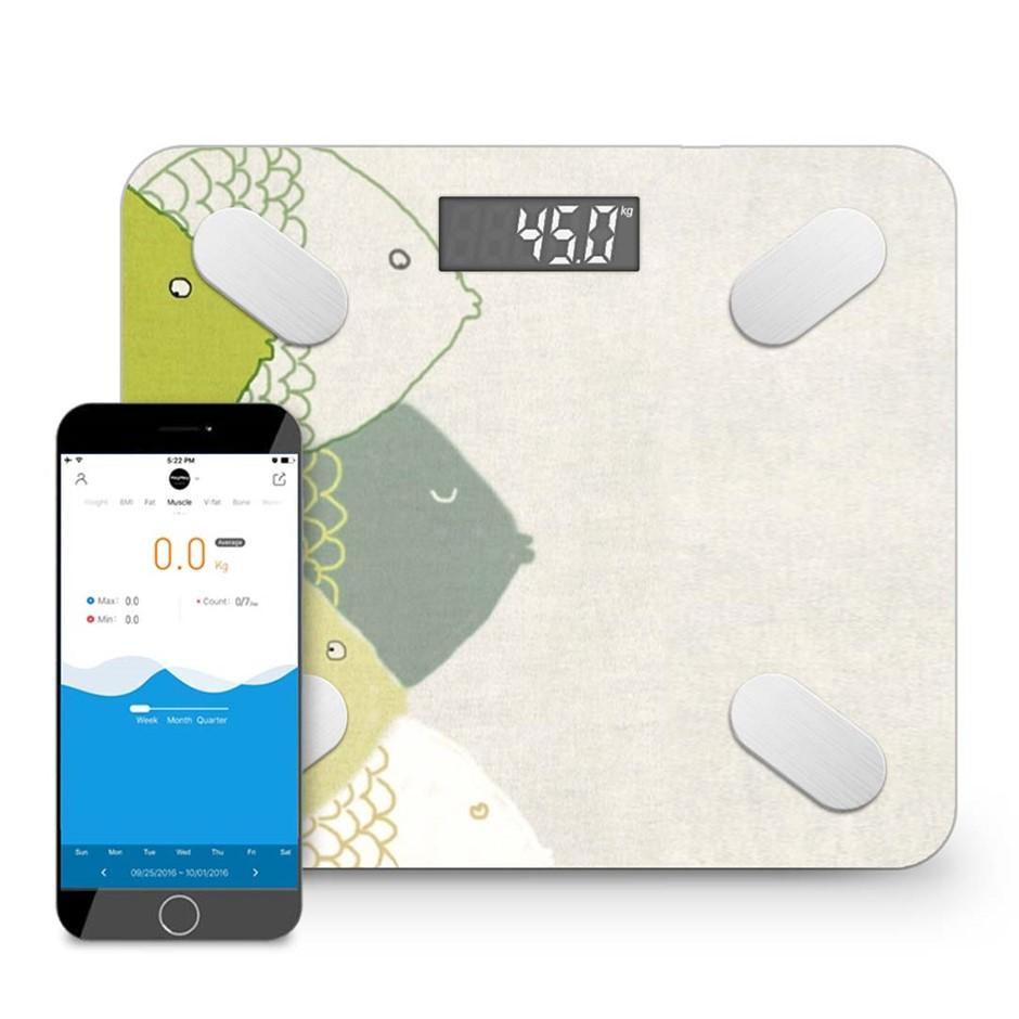 SOGA Wireless Bluetooth Digital Body Fat Scale Health Analyzer Weight