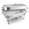 SOGA 9L Stainless Steel Chafing Food Warmer Catering Dish Full Size