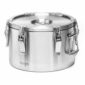SOGA 304 10L Stainless Steel Insulated F