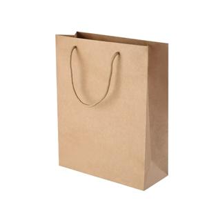 100pcs Kraft Paper Carry Bags Handbags w