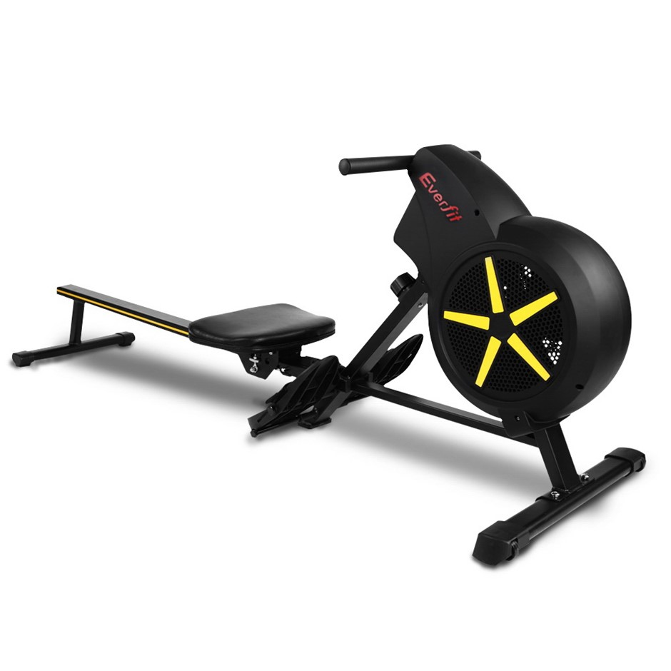 Everfit Rowing Exercise Machine Resistance Home Gym Cardio Air
