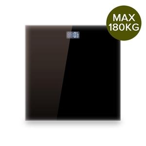 SOGA Black 180kg DigitalBathroom Gym Bod