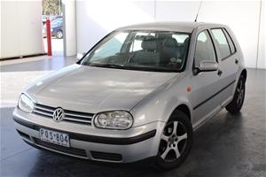 1999 Volkswagen Golf GL A4 Manual Hatchb