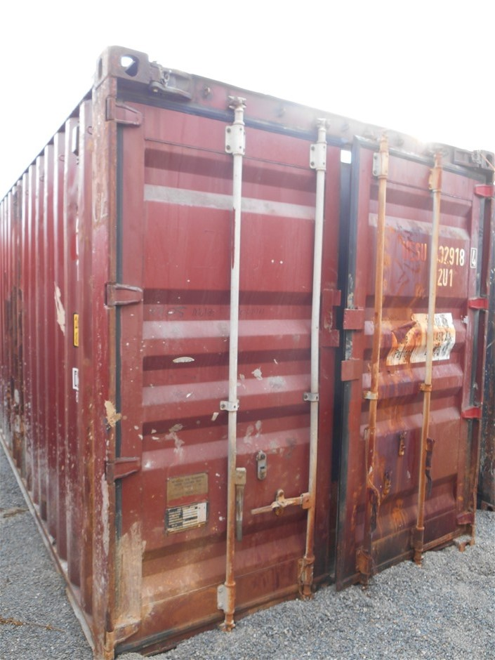 40 Foot Open Top Container Auction (0003-5037810 ...