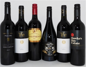 Pack of Assorted Red Wine (6 x 750mL)