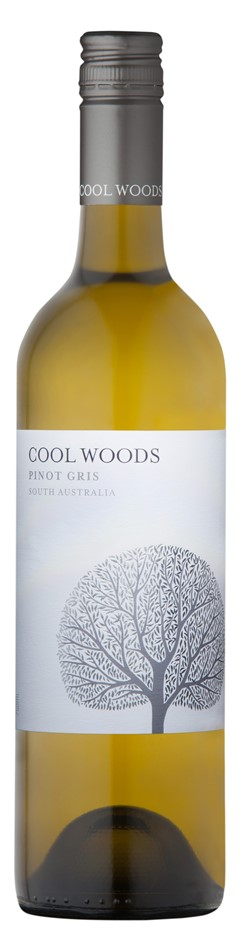 Cool Woods Pinot Gris 2018 (12 x 750mL), SA.