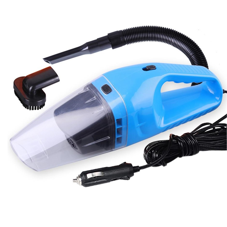 12V Portable Handheld Vacuum Cleaner Car Boat Vans Blue