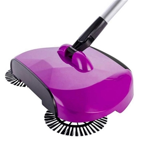 Auto H/hold Spin Hand Push Sweeper Broom
