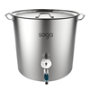 SOGA Stainless Steel Brewery Pot 71L With Beer Tap 45*45cm
