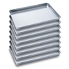 8 x SOGA Aluminium Oven Baking Pan Cooking Tray for Bakers 60*40*5cm