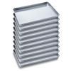 10 x SOGA Aluminium Oven Baking Pan Cooking Tray for Baker 60*40*5cm