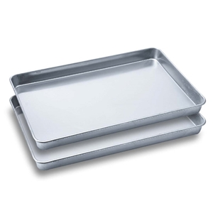 2 SOGA Aluminium Oven Baking Pan Cook Tr