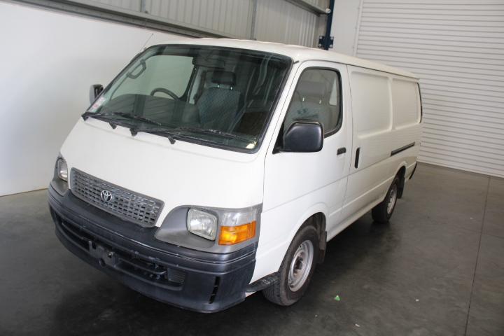 1999 Toyota Hiace LWB 2.4L 4cyl Petrol Auto Van