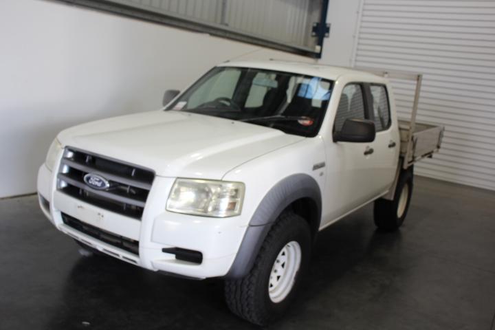2007 Ford Ranger XL (4x4) PJ Turbo Diesel Manual Crew Cab Chassis