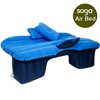 Inflatable Car Mattress Travel Camping Air Bed Rest Sleeping Bed Blue