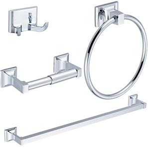 4 Piece Towel Bar Set Bath Accessories B