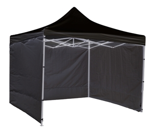 3x3m Popup Gazebo Party Tent Marquee Bla