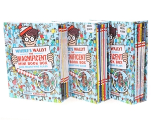 3 x Sets of Where`s Wally The Magnificen